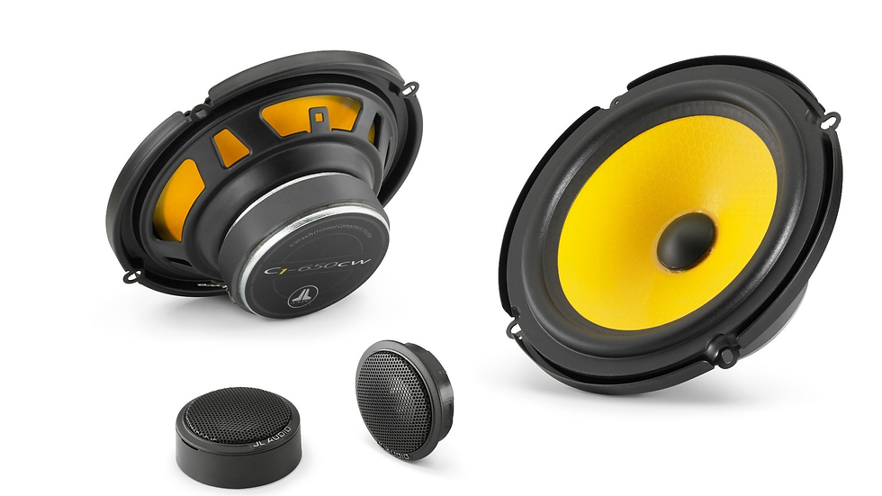 JL Audio C1-650 - 6.5-inch (165 mm) Component Speaker System