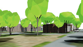 Caudry -Le projet d'écoquartier avance, démarrage des travaux ce jour,  les premiers habitants espé