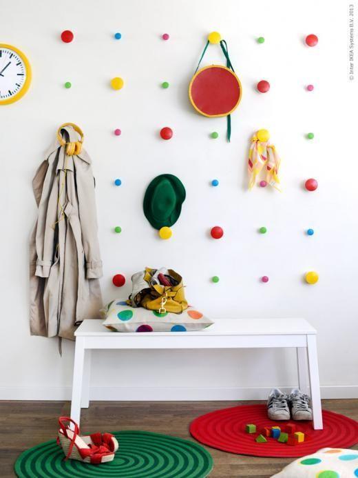 נגיעות קטנות של צבע בחדר הילדים