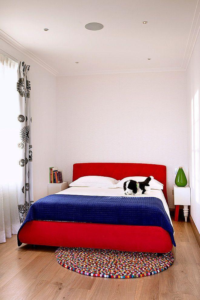 שטיח מדגם חגיגה בחדר נוער