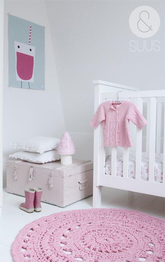 חדר תינוקת ורוד בייבי