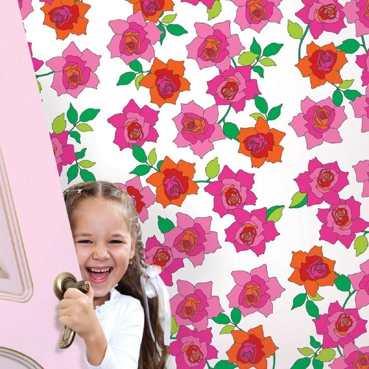 טפט צבעוני חדר ילדים
