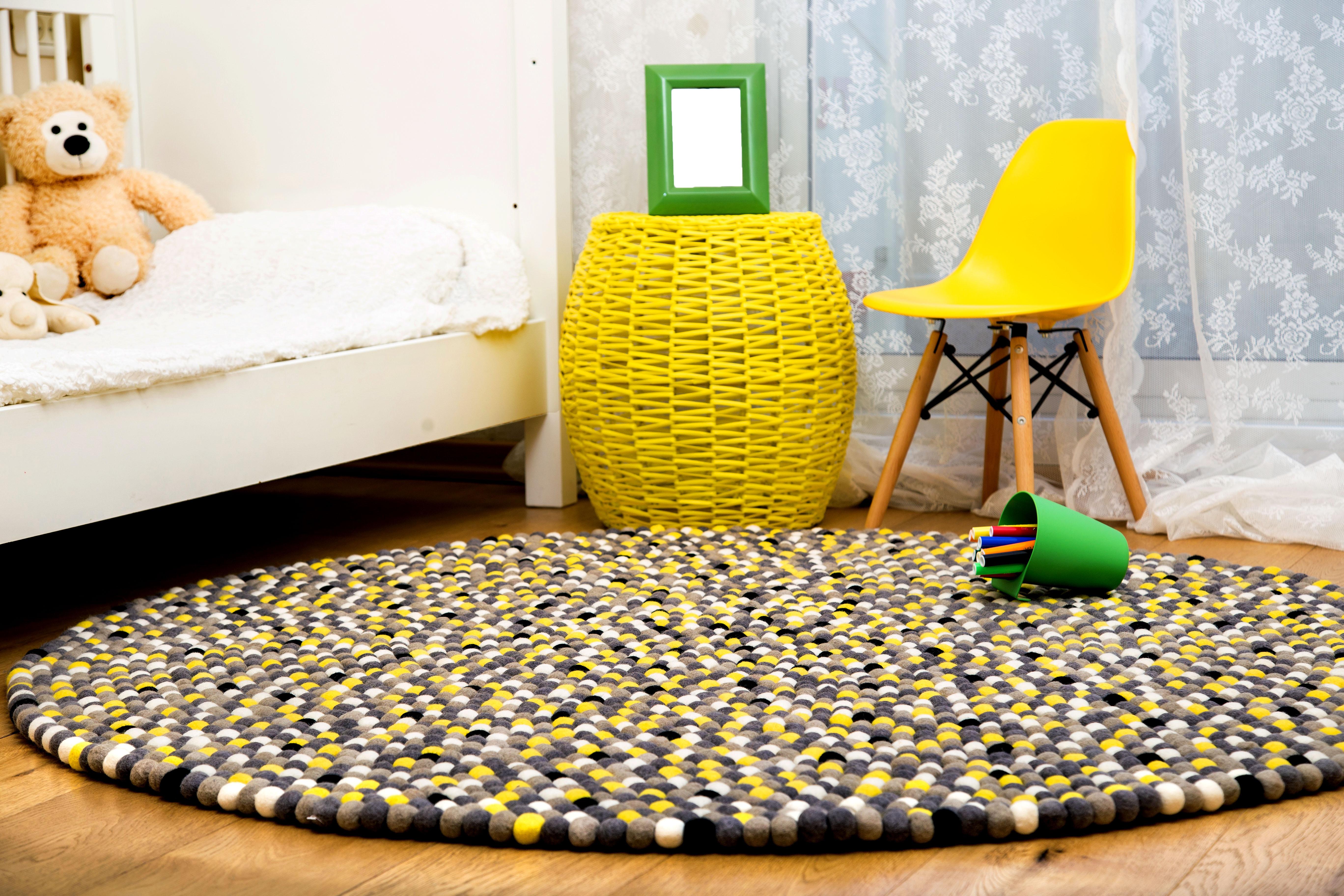 שטיח לימונדה בחדר ילדים