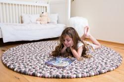 שטיח מצמר כבשים איכותי