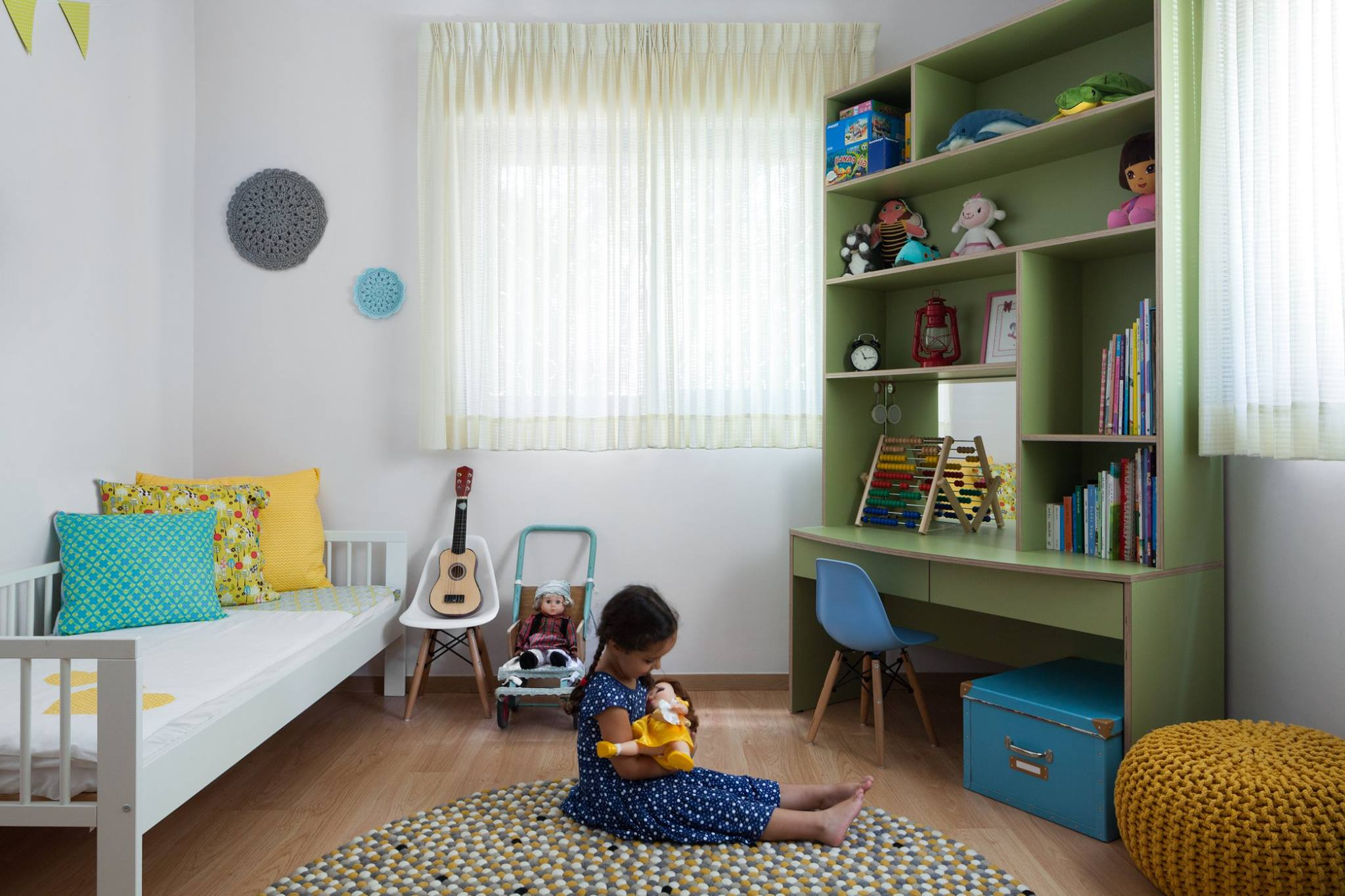 שטיח בחדר ילדים