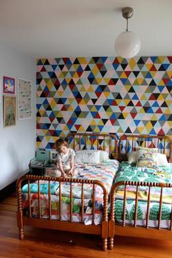 רטרו חדר ילדים