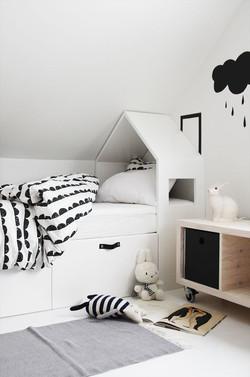 הכי טרנדי שיש- חדר בשחור לבן