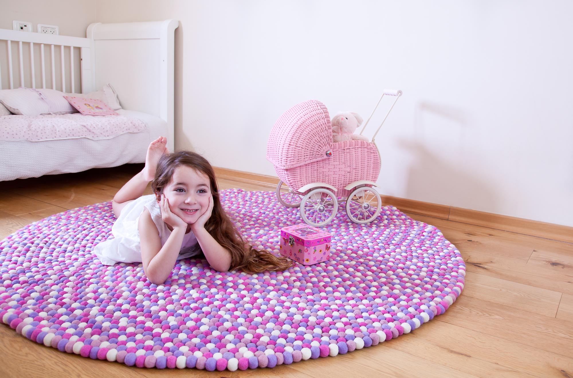 שטיח כפריט מרכזי בחדר ילדים