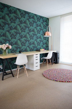 שטיח בחדר עבודה