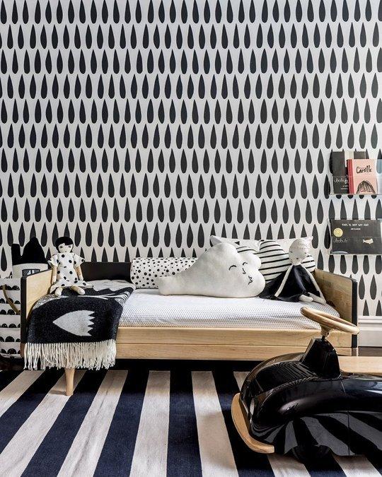 חדר נוער בשחור לבן