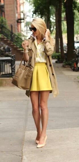 אופנה בצהוב