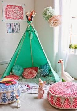 אוהל- אפשר להכין לבד בבית