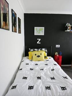 קיר שחור מגנט בחדר ילדים