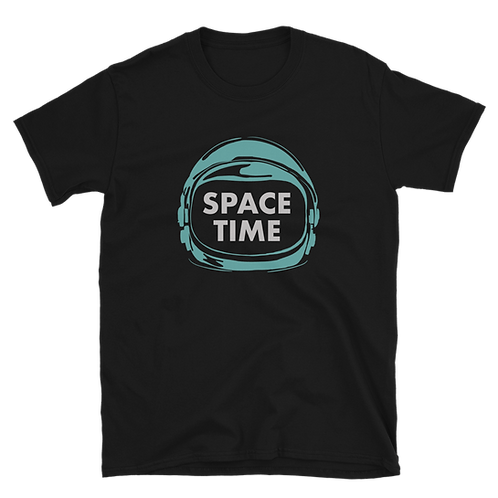 Space Time Helmet Tee