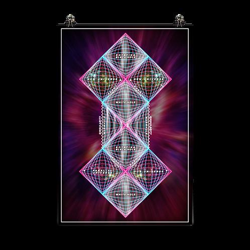Penrose Universe Poster 24 x 36