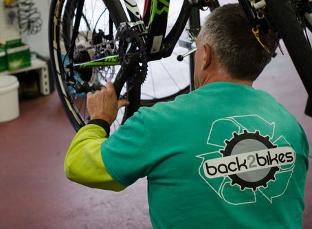 Lucidity partners with local not-for-profit Back2Bikes