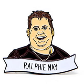 Ralphie May Commemorative Enamel Pin
