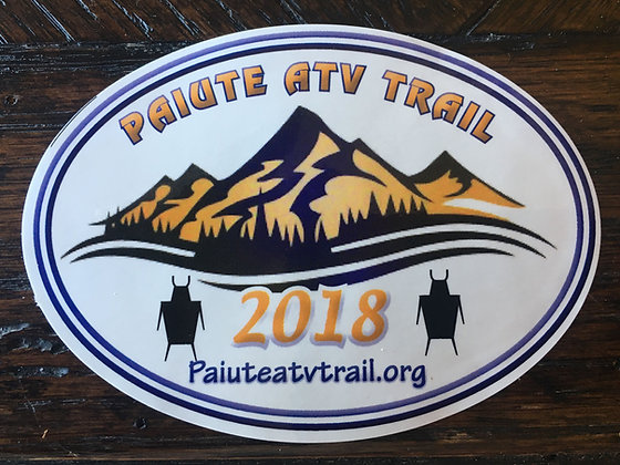 2018 Paiute Trail Sticker