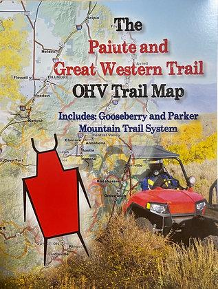 The Paiute/Gooseberry OHV Trail Map