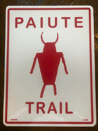 """Tazz"" Trail Sign"