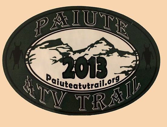 2013 Paiute Trail Sticker