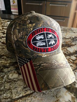 American Flag Visor cap - CWF305