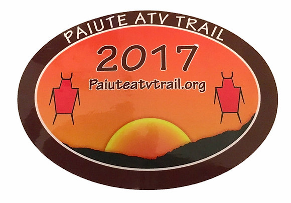 2017 Paiute Trail Sticker