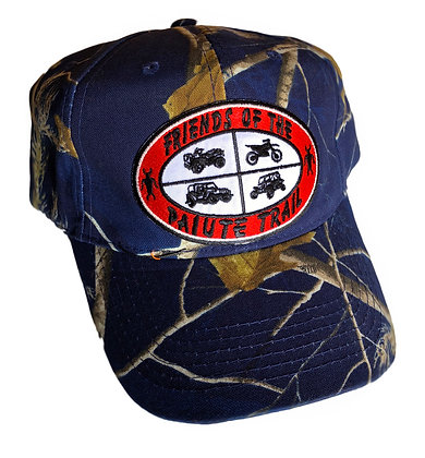Dark Blue Camo Cap