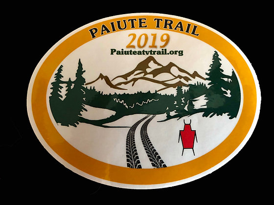 2019 Paiute Trail Sticker