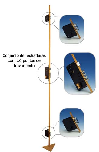 FECHADURA MUL-T-LOCK MULTPONTO