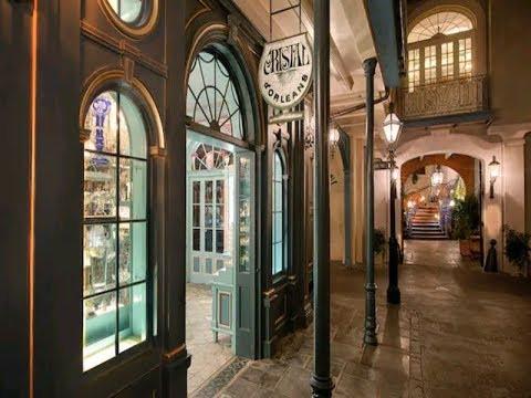 Cristal d'Orléans - Première boutique Arribas à Disneyland Anaheim