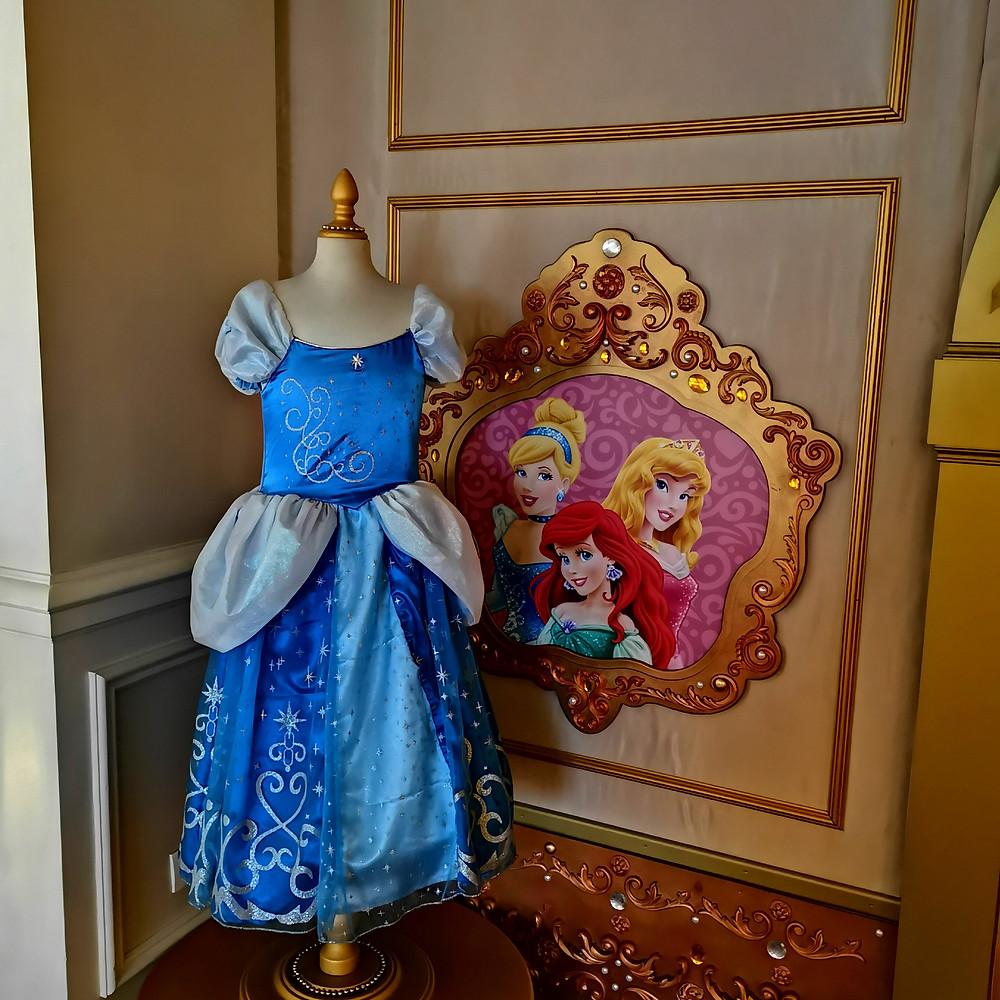 Princesse d'un jour Disneyland Paris, Pack Château, Robe cendrillon, tarif princesse d'un jour