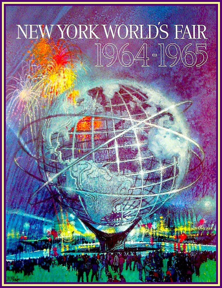 Affiche de la Foire Internationale de New York 1964-1965