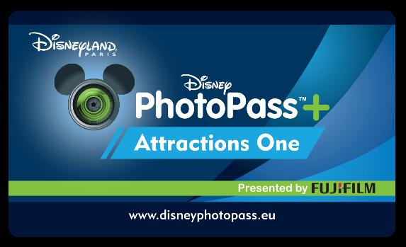 PhotoPass+ Attractions One  - Disneyland Paris