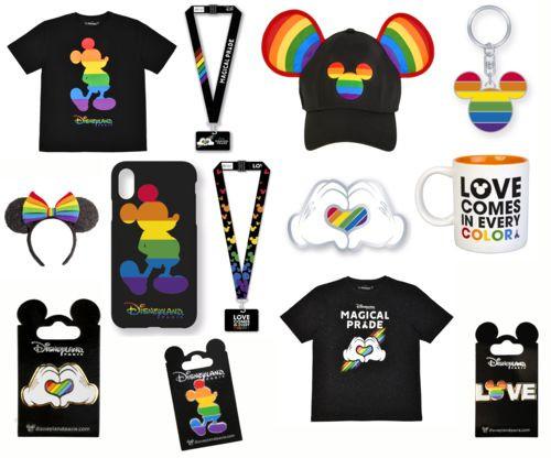 Apercu de la collection Rainbow - Magical Pride Disneyland Paris