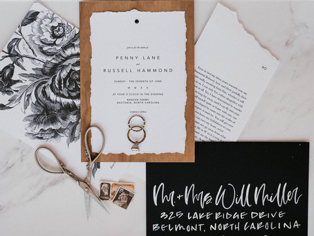 Designing your Dream Wedding Stationary - 3 Details to Consider