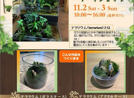 11/2~4 ワークショップ  in「秋穫祭」