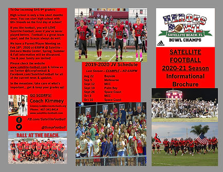 Satellite Football 2020 Informational Br