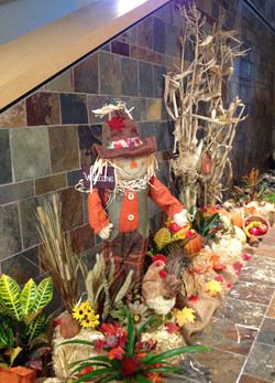 Fall decorations Scarecrow