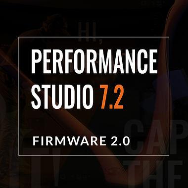 Performance studio 7.2 firmware 2.0
