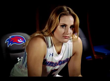 UMASS Women's basketball player