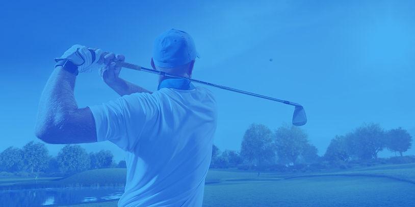 Long golf swing