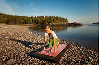 Relax along the shores of the Bay of Fundy