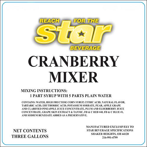 Cranberry Mixer