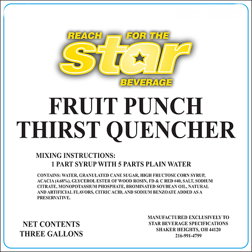 Fruit Punch Thirst Quencher