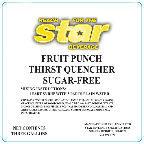 Fruit Punch Thirst Quencher - Sugar Free