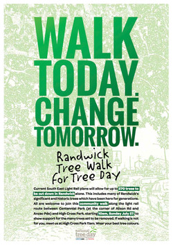 Walk today, change tomorrow