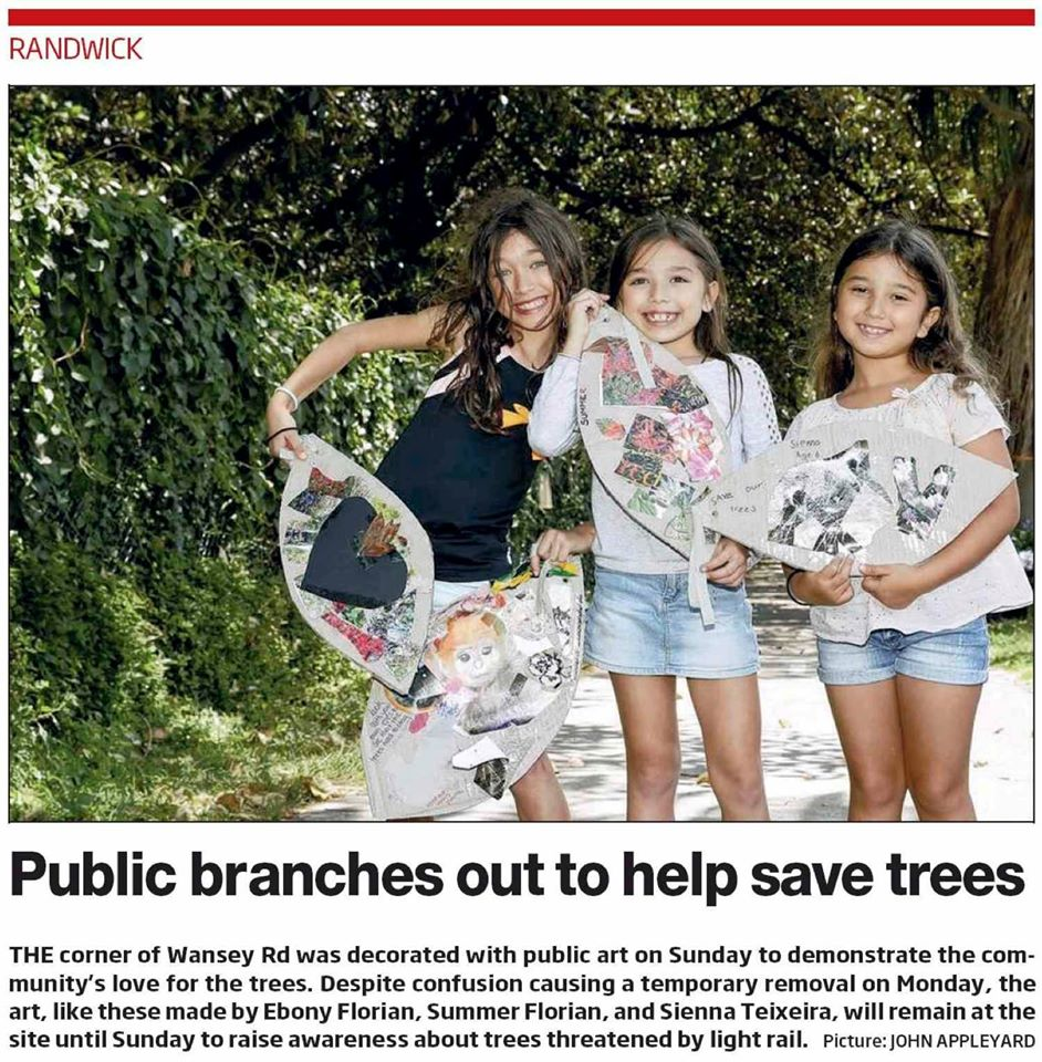Public branches out to help trees