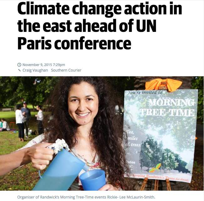 Home-grown climate change action