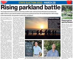 Rising parkland battle